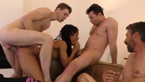 Rough sex in the company of BBW Kira Noir