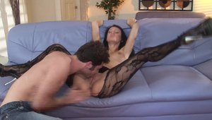Sucking cock together with big tits whore Victoria Sin