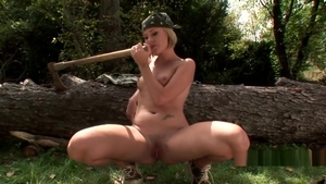 Good fucking accompanied by exotic chick blonde
