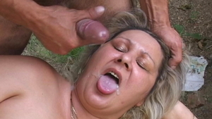 Granny Frank Major feels the need for loud sex in HD