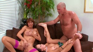 Hard the best sex along with Haley Sweet and Desi Foxx
