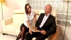 Plowing hard in company with perfect pawg Jada Stevens