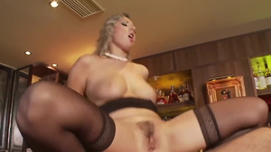 Young Daria Glover blonde doggy fucks video