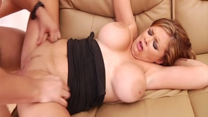 Katie Kox plus Katie Morgan cumshot