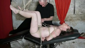 French hotwife feels the need for bondage