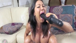 Fetish real sex between very kinky latina granny Ava Devine