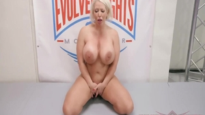 Busty together with Alura Jenso creampied