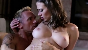 Rough ramming hard with big tits brunette