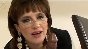 Big tits stepmom european Lady Sonia handjob