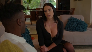 Busty Angela White agrees to nailed rough