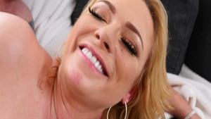 Pussy fucking in company with classy blonde Briana Banks