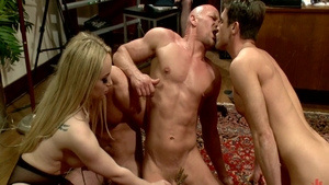 Poor Chad White & Aiden Starr ass fucking video