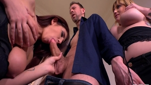 The best sex together with wild babe Erik Everhard