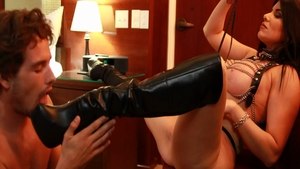 Tyler Nixon accompanied by very kinky Romi Rain