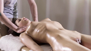 Tight softcore massage fingering in HD
