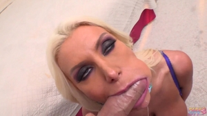 Rough real fucking alongside stunning blonde Brittany Andrews