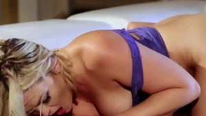 Slamming hard along with very sexy brunette