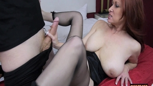 Chubby mature Tiffany Mynx has a thing for raw sex