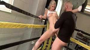 Raw fucking together with young couple Mira Sunset