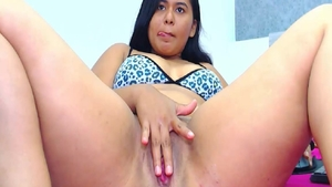 Loud sex in the company of hawt colombian girl