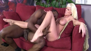 Dick sucking in the company of busty cougar Kaylee Brookshire