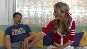 Slamming hard escorted by perfect teen chick