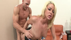 Hottest MILF Johnny Sins really likes plowing hard