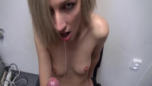 Sexy czech slut pussy fuck at castings