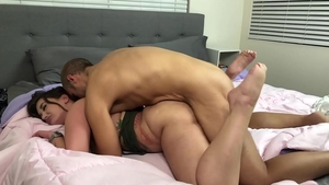 Dick sucking with big ass brunette Gia Paige
