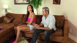Hard pounding in the company of super sensual amateur