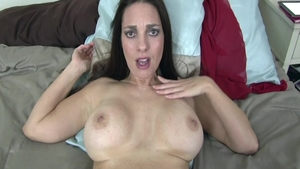 Hardcore nailing among busty chick Mindi Mink