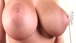 Girl Gianna Michaels gets a buzz out of fingering in panties