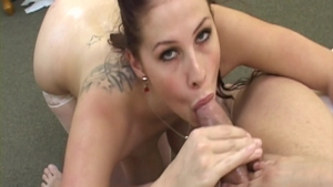 Busty and big boobs Gianna Michaels in stockings cumshot
