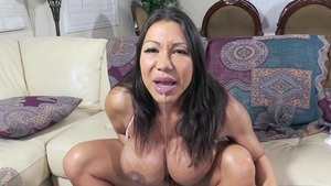Solo Ava Devine asian stepmom beautiful bouncing on a dick