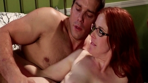 Redhead Penny Pax together with big tits Ramon Nomar handjob
