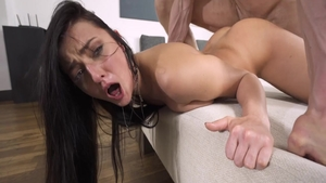 Hottest babe Katy Rose finds pleasure in hard nailining