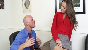 Rough nailing with Dani Daniels and Johnny Sins