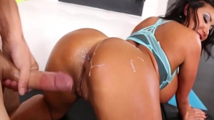 Gonzo sex with toys starring classy asian slut August Taylor