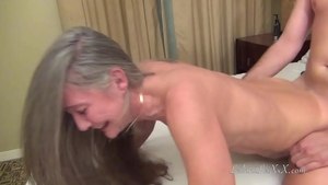 Raw fucking with long haired stepmom