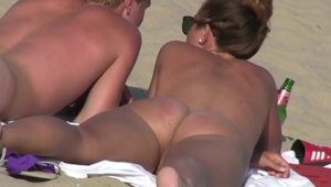 Hard pounding with big tits brunette