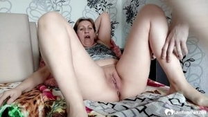 Shaved european amateur dick sucking