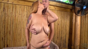 Very sexy Alexis Love gets a buzz out of ramming hard
