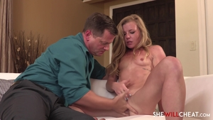 Loud sex escorted by young hotwife Nicole Clitman