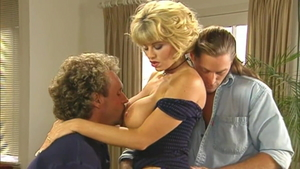 Hard pounding escorted by big tits blonde babe Julia Spain