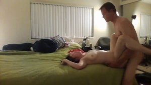 Muscled amateur rough rammed hard