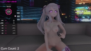 Large boobs MILF loves hentai squirt in public in HD