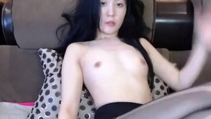 Female orgasm amongst young asian babe