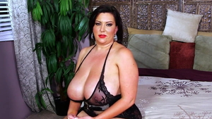 Brunette Paige Turner tits fucking video in HD