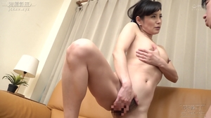 Hard sex along with hairy asian mature