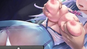Huge boobs hentai creampie